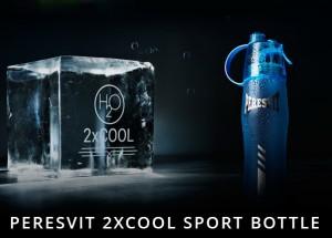 фото Спортивная бутылка с распылителем Peresvit 2xCool Frosty Blue (841118-463) #11