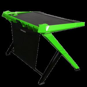 Компьютерный стол для ноутбука DXRacer GD/1000/NE Black/Green