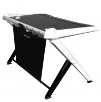 Компьютерный стол для ноутбука DXRacer GD/1000/NW Black/White