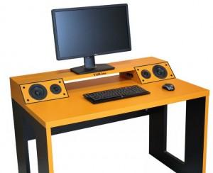 Компьютерный стол со встроенной акустической системой VidLine Orange