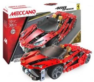 Конструктор  Meccano `автомобиль Ferrari GTB 488 Roadster` (6028974)