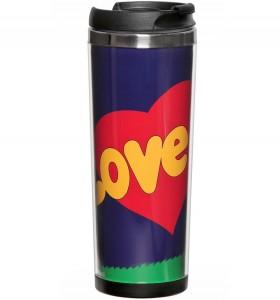 Термокружка ZIZ 'Love is' (21020)