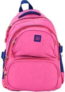 Рюкзак школьный GoPack 100 GО-1, розовый (GO17-100M-1)
