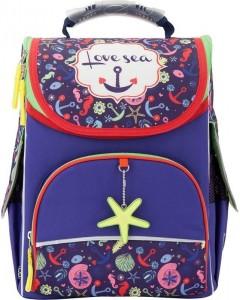 Рюкзак школьный каркасный GoPack 5001S-2 (GO17-5001S-2)