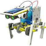 фото Конструктор  `Робот 14 в 1 на солнечных батареях` (21-615) #6
