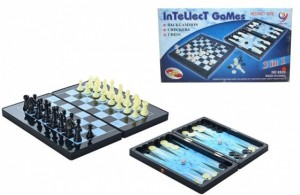 Шахматы магнитные`3в1` (8899)
