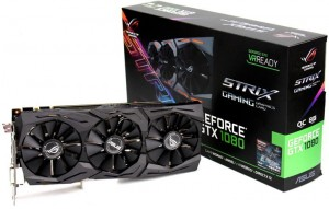 Видеокарта Asus GeForce GTX 1080 Strix 8G (STRIX-GTX1080-8G-GAMING)