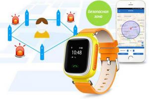 фото Детские умные часы с GPS трекером GW900 (Q60) Pink #2