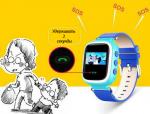 фото Детские умные часы с GPS трекером GW900 (Q60) Pink #4