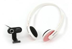 Веб-камера Omega Voip set C-195 + Hi-fi headset (OUWH195HD)