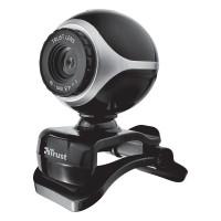 Веб-камера Trust Exis Black/Silver (17003)