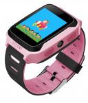 Детские умные часы с GPS трекером G900A Q65 Pink (G900APN)
