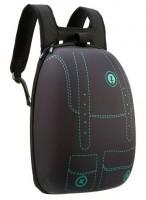 Рюкзак Zipit 'SHELL' Black & Stitches (ZSHL-BGP)