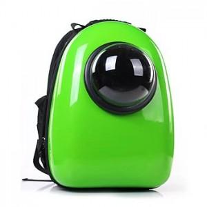 Рюкзак-переноска для животных CosmoPet с иллюминатором, зеленый