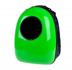 фото Рюкзак-переноска для животных CosmoPet с иллюминатором, зеленый #2