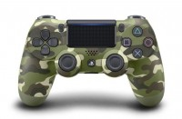 DualShock 4 для Sony PlayStation 4 Version 2 Green Camouflage