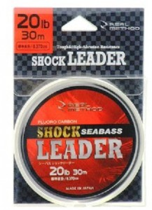 Флюорокарбон Real Method 'Sea Bass Shock Leader 30м 30lb' (3969003)