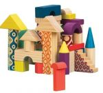 Деревянные кубики Battat 'Еловый домик' (BX1361Z)
