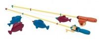 Игровой набор Battat Lite 'Магнитная рыбалка (2 удочки, 4 рыбки)' (BT2434Z)