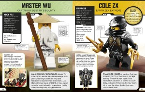 фото страниц Lego Ninjago. Character Encyclopedia #2