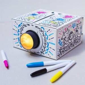 Подарок Проектор для смартфона Smartphone Projector 2.0 Luckies 'DIY'(LUKPRO2D)