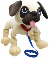 Интерактивная игрушка Peppy Pets Веселая прогулка 'Мопс' (245291)