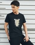 фото Футболка Mi bunny pattern round neck short sleeve T shirt Black XXL (1170800047) #2