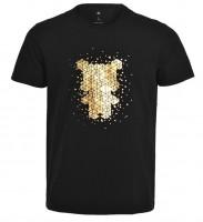 Футболка Mi bunny pattern round neck short sleeve T shirt Black XXL (1170800047)