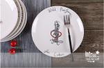 Тарелка 'Выступаем за еду' (214)