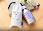 Подарок Термобутылка Bonjour, розовая (206)