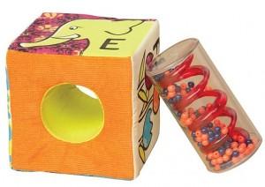 фото Развивающие мягкие кубики-сортеры ABC Battat (BX1477Z) #2