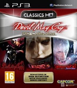игра Devil May Cry HD Collection PS3