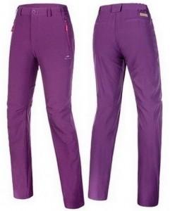 Туристические женские штаны Naturehike 'Purple L' (NH15K002-X)