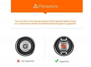 фото Bluetooth Car трансмиттер RoidMi 2S BFQ02RM Black (Р26967) #5