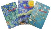 Книга Подарочный набор 'Винсент Ван Гог' (комплект из 3 блокнотов)