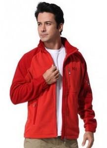 Флисовая мужская кофта Naturehike 'NH F01 Red L' (NH13Y028-F)