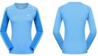 Термофутболка женская NatureHike 'NH T-shirt Bonnie Blue XL' (NH15S005-P)