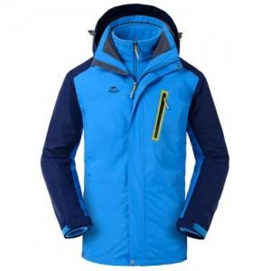 Трекинговая куртка NatureHike 3 в 1 'Deep Sea Blue L' (NH16F001-M)