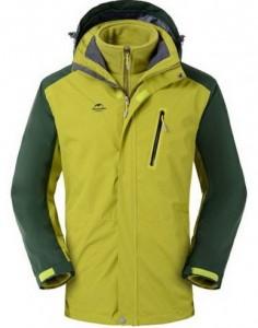 Трекинговая куртка NatureHike 3 в 1 'Olive Green L' (NH16F001-M)