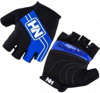 Велоперчатки без пальцев NatureHike 'Cycling Half Blue XL' (NH23S011-T)