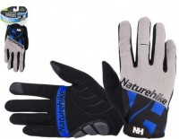 Велоперчатки NatureHike 'Cycling 2 Blue L' (NH23S012-T)