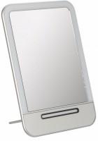 Подарок Зеркало с LED подсветкой (заряжается от USB) (серебристый)