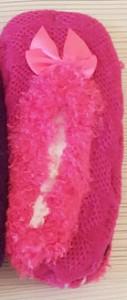 Подарок Тапочки с бамбукового волокна JuJube Fashion Socks (малиновые)