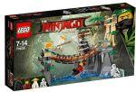 Конструктор LEGO Ninjago 'Битва Гармадона и Мастера Ву' (70608)