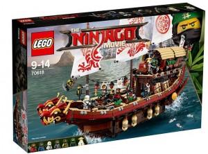 Конструктор LEGO Ninjago 'Летающий корабль Мастера Ву' (70618)