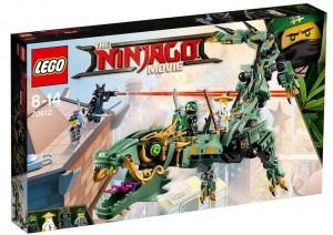 Конструктор LEGO Ninjago 'Механический Дракон Зелёного Ниндзя' (70612)