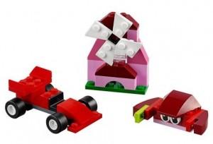 фото Конструктор Lego Classic 'Красный набор для творчества' (10707) #2