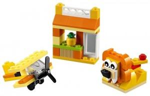 фото Конструктор Lego Classic 'Оранжевый набор для творчества' (10709) #2