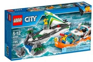 Конструктор Lego City 'Спасение парусника' (60168)