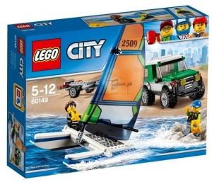 Конструктор Lego City 'Внедорожник с прицепом для катамарана' (60149)